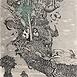 Autor: Dušan POLAKOVIČ, Akademický maliar, Názov diela: Pozor rezervácia, Technika: lept, mezotinta, Motív: figurálne, akty, Rozmery: 32x24 cm, Rok: 1985