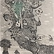 Autor: Dušan POLAKOVIČ, Akademický maliar, Name of work: Pozor rezervácia, Technique: lept, mezotinta, Motif: figured, nudes, Size: 32x24 cm, Year: 1985