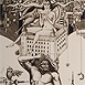 Autor: Dušan POLAKOVIČ, Akademický maliar, Name of work: Corgoň, Technique: lept, mezotinta, Motif: figured, nudes, Size: 24x15,5 cm, Year: 2006