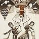 Autor: Dušan POLAKOVIČ, Akademický maliar, Name of work: Ex Libris - Mário Mikloši, Technique: lept, mezotinta, Motif: figured, nudes, Size: 16,5 x 12,5 cm, Year: 2009