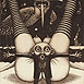 Autor: Dušan POLAKOVIČ, Akademický maliar, Názov diela: Ex Libris - H.Sparke, Technika: lept, mezotinta, Motív: figurálne, akty, Rozmery: 14,5x10 cm, Rok: 2004