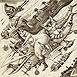 Autor: Dušan POLAKOVIČ, Akademický maliar, Názov diela: Ex Libris - Jadviga.J, Technika: lept, mezotinta, Motív: figurálne, akty, Rozmery: 14,5x14,5 cm, Rok: 2007
