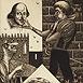 Autor: Dušan POLAKOVIČ, Akademický maliar, Name of work: Ex Libris - L.Deurinck, Technique: lept, mezotinta, Motif: figured, nudes, Size: 14,5x10 cm, Year: 2005