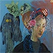 Autor: Milan VAVRO, Akademický maliar, Názov diela: Dorotka a démoni, Technika: kombinovaná technika, Motív: krajina, architektúra, Rozmery: 40x57 cm, Rok: 2010