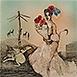Autor: Katarína VAVROVÁ, Akademická maliarka, Názov diela: Balada II, Technika: ručne kolorovaný lept, Motív: figurálne, akty, Rozmery: 30x30 cm, Rok: 2013