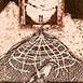 Autor: Zdeno BRÁZDIL, Akad. mal., Názov diela: Zakliata, Technika: lept, mezotinta, Motív: ostatné nezaradené, Rozmery: 12x7,5 cm, Rok: 1997