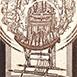 Autor: Zdeno BRÁZDIL, Akad. mal., Názov diela: Kreslo, Technika: lept, mezotinta, Motív: ostatné nezaradené, Rozmery: 12x8,5 cm, Rok: 2001