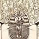 Autor: Zdeno BRÁZDIL, Akad. mal., Názov diela: Maska, Technika: lept, mezotinta, Motív: ostatné nezaradené, Rozmery: 11,5x8,5 cm, Rok: 2001