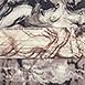 Autor: Igor PIAČKA, Akademický maliar, Name of work: Berieš mi dych, Technique: kombinácia technik, Motif: figured, nudes, Size: 10,5x10 cm, Year: 1996