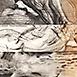 Autor: Igor PIAČKA, Akademický maliar, Názov diela: Vlny, Technika: kombinácia technik, Motív: figurálne, akty, Rozmery: 10,5x10 cm, Rok: 1996
