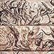 Autor: Igor PIAČKA, Akademický maliar, Názov diela: Zverokruh, Technika: kombinácia technik, Motív: figurálne, akty, Rozmery: 20x14 cm, Rok: 2004