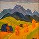 Autor: Zdeno HORECKÝ, Akademický maliar, Name of work:  , Motif: landscape, architecture, Year: 0