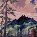 Autor: Rudolf RYPÁK, Názov diela: Pohľad do Mengusovskej doliny, Technika: olejomaľba, Motív: krajina, architektúra, Rozmery: 70 x 50 cm, Rok: 2016