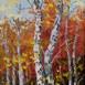 Autor: Rudolf RYPÁK, Názov diela: Na okraji lesa, Technika: olejomaľba, Motív: krajina, architektúra, Rozmery: 40x50 cm, Rok: 2016