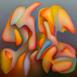 Autor: Orest DUBAY ml., Akademický maliar, Názov diela: Súzvuk pocitov II, Technika: olejomaľba, Motív: abstraktné, Rozmery: 40x40, Rok: 2016