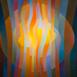 Autor: Orest DUBAY ml., Akademický maliar, Názov diela: Slnečný deň II, Technika: olejomaľba, Motív: abstraktné, Rozmery: 60x60, Rok: 2017