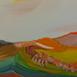 Autor: Ruth DUBAYOVÁ, Akademická maliarka, Názov diela: Krajina pod Sitnom XIII, Technika: olejomaľba, Motív: krajina, architektúra, Rozmery: 24x30, Rok: 2016