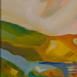 Autor: Ruth DUBAYOVÁ, Akademická maliarka, Názov diela: Slnečné kopce VII, Technika: olejomaľba, Motív: krajina, architektúra, Rozmery: 50x70, Rok: 2017
