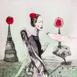 Autor: Katarína VAVROVÁ, Akademická maliarka, Názov diela: Thajský anjel, Technika: kolorovaný lept, Motív: ostatné nezaradené, Rozmery: 29,5x29,5, Rok: 2018