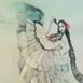 Autor: Katarína VAVROVÁ, Akademická maliarka, Názov diela: Mýtus očarenia II, Technika: kolorovaný lept, Motív: ostatné nezaradené, Rozmery: 49,5x39, Rok: 2018