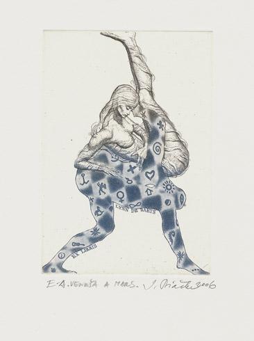 Igor PIAČKA, Akademický maliar - Ex Libris - Lynn De Baets
