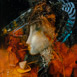 Autor: Marian VIDA, Názov diela: Fragmenty II, Technika: olejomaľba, Motív: abstraktné, Rozmery: 25x23 cm, Rok: 2020