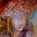 Autor: Marian VIDA, Name of work: Nevesta III, Technique: olejomaľba, Motif: figured, nudes, Size: 27 x 25, Year: 2020
