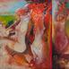 Autor: Marian VIDA, Názov diela: Vyzliekanie nevesty, Technika: olejomaľba, Motív: figurálne, akty, Rozmery: 60x90 cm, Rok: 2020