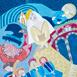 Autor: Sonja BŐHMEROVÁ, Názov diela: Hráme len pre teba, Technika: kombinácia maliarskych techník, Motív: figurálne, akty, Rozmery: 39x29 cm, Rok: 2018